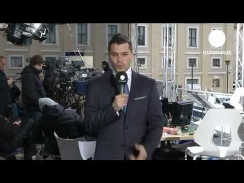Vatican City turned media city as journalists descend for papal conclave