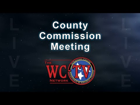 Williamson County Board of Commissioners Meeting - March 13, 2017