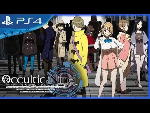 OCCULTIC;NINE Game (2017) - Opening Movie - PS4, PS Vita