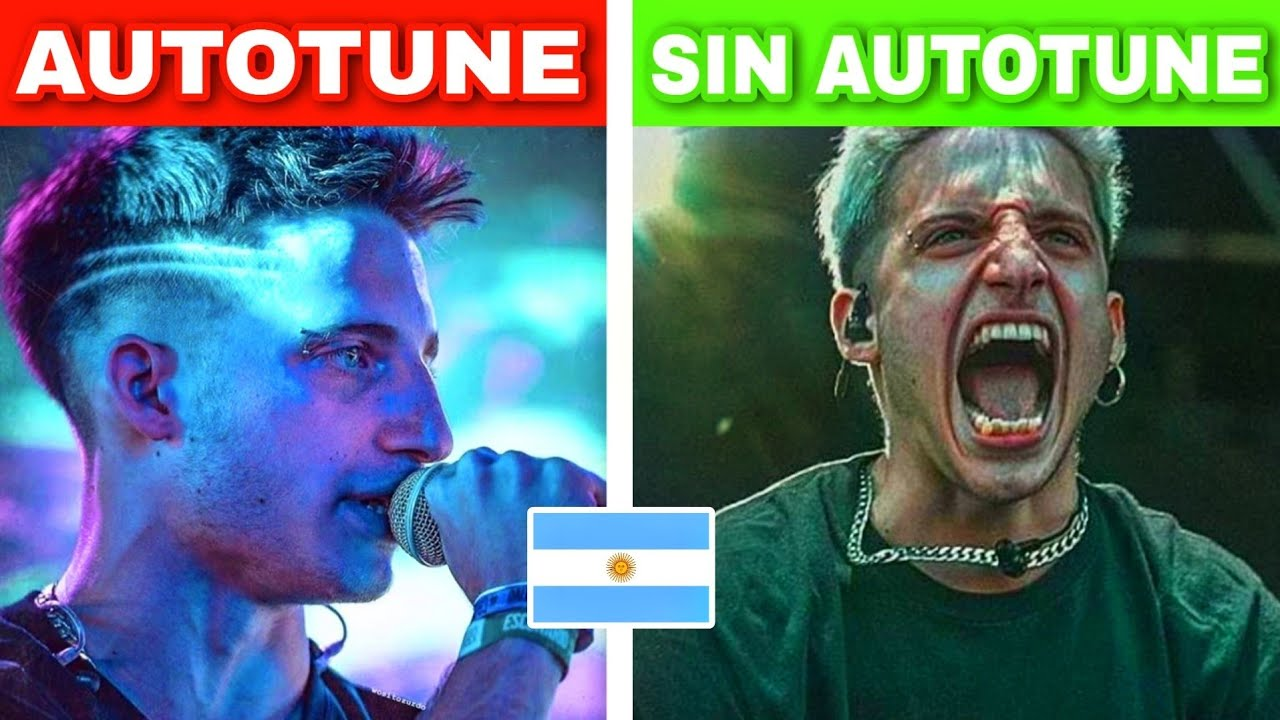 AUTOTUNE vs SIN AUTOTUNE 🔥 Versión Argentina 🇦🇷 #3