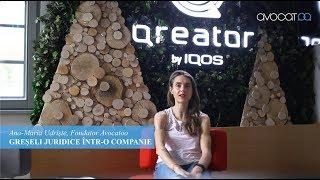 Gambar cover Greseli frecvente in cadrul firmelor | Ana Maria Udriște - Avocatoo