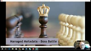 SharePoint Power Hour: Advanced Managed Metadata & Search