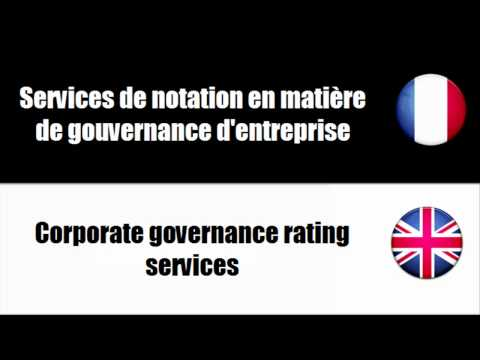 [Learn to speak French] Accounting, auditing and fiscal services