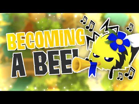ANIMAL JAM I BECOME A BEE