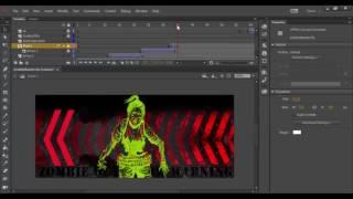 Adobe Animate CC de la Création d'un Masque de Tutoriel