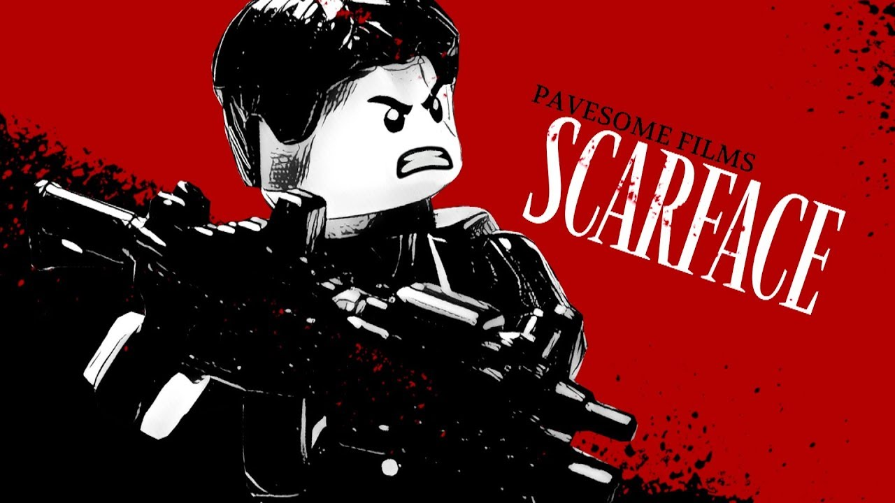 Lego Scarface Say Hello To My Little Friend Youtube