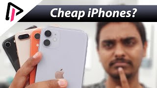 Comparison of cheaper iPhones: iPhone 11 vs iPhone XR vs iPhone 8+. Which one to pick? | Pros & cons
