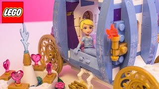 Lego Disney Princess Cinderella's Dream Carriage Lego Cinderella's Romantic Castle Disney Toys