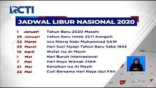Pemerintah Revisi Libur Nasional & Cuti Bersama Dalam Kalender Tahun 2020 - Sis 10/03
