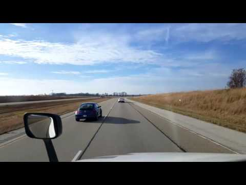 Bigrigtravels Live! - Bloomington to Collinsville, Illinois - Interstate 55 - November 22, 2016