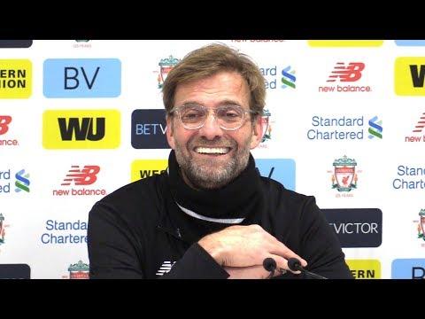 Liverpool 4-3 Manchester City - Jurgen Klopp Post Match Press Conference - Premier League #LIVMCI