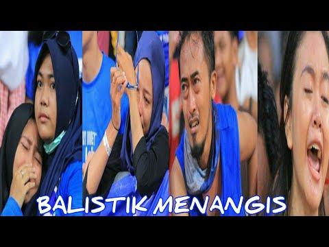 Tangis Suporter  & Pemain Persiba Balikpapan Pecah Setelah timnya Terdegradasi.