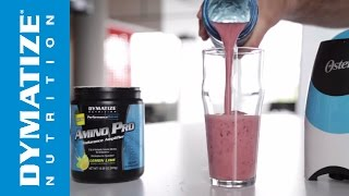 Protein Shake - Lemon Berry Amino Pro Smoothie - Dymatize
