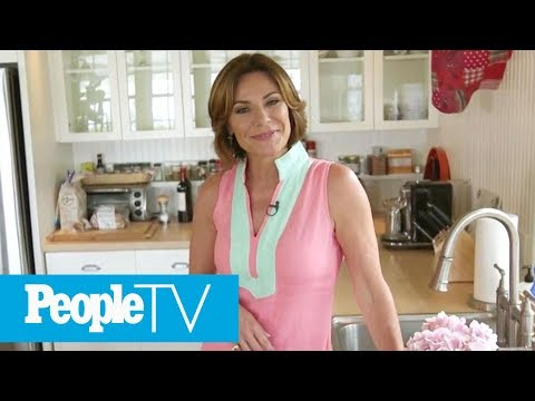'RHONY's' Luann De Lesseps Gives A Tour Of Her Country Kitchen In Her Hamptons Home  PeopleTV