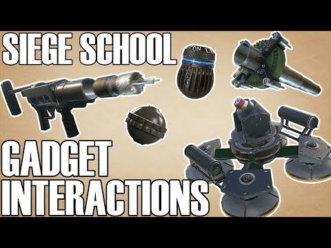 Gadget Interactions And Inconsistencies - Siege School (Rainbow Six Siege)