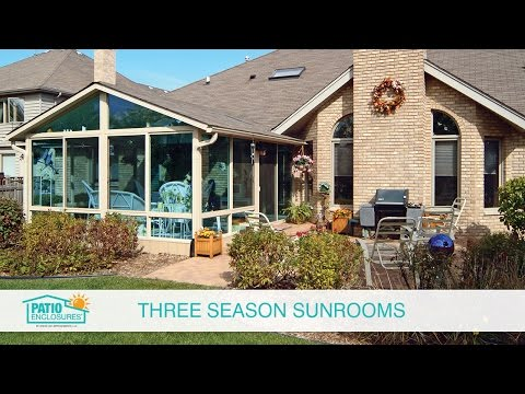 Pictures of Three Seasons Rooms for Ideas and Inspiration | Patio Enclosures®