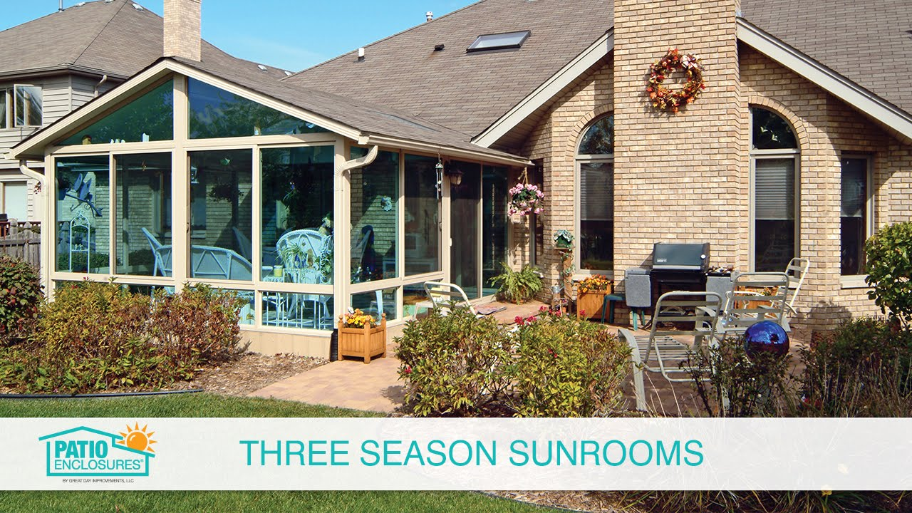 Pictures of Three Seasons Rooms for Ideas and Inspiration ... on Patio Enclosure Ideas  id=93669