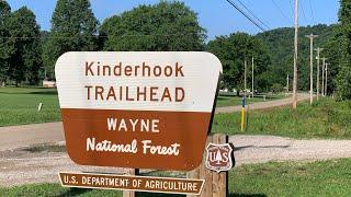 Free Camping at Kindęrhook Trailhead Dispersed Camping Area, Wayne NF, OH