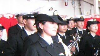 2012自衛隊観艦式 護衛艦「くらま」 ~坂の上の雲~ 三宅由佳莉三等海曹
