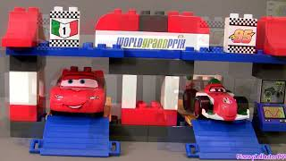 Lego Duplo Cars 2 Build Lightning Mcqueen, Fillmore, Guido Disney Pixar 5829 Buildable Toys