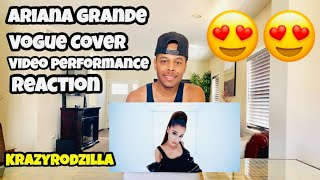 Ariana Grande's Vogue Cover Video Performance | Vogue - REACTION