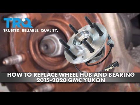 How to Replace Wheel Hub & Bearing 2015-20 GMC Yukon