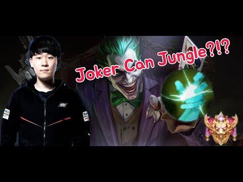 《ahq Rush 》Thailand SS Rank~!! Joker Jungle!!!!  (傳說對決,ROV,LiênQuânMobile,AOV)
