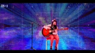 Lauren Thalia Britans Got Talent 2012 Audition
