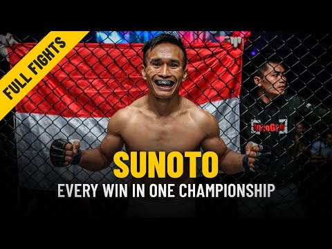 Every Sunoto Win | ONE: Full Fights