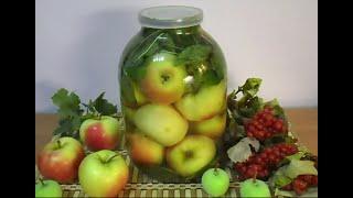 Квашеные (Моченые) Яблоки в Банке\ Домашние заготовки на Зиму