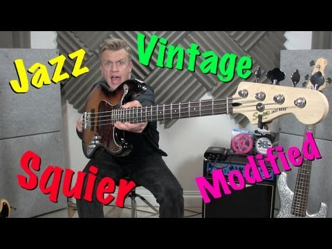 Squier By Fender Vintage Modified Jazz B Review