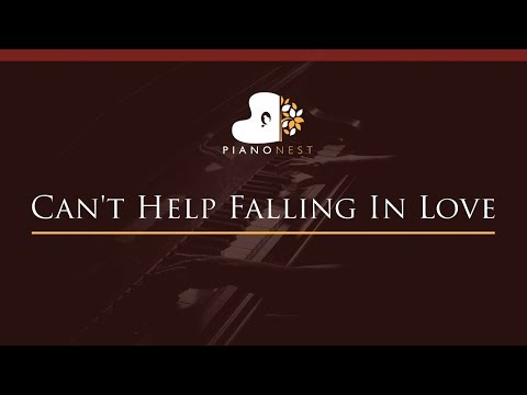 Can&39;t Help Falling In Love - HIGHER Key Piano Karaoke  Sing Along