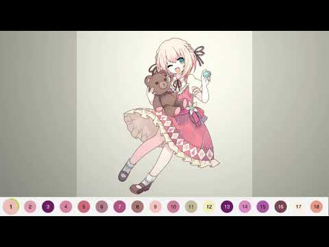 Tap Anime - Color By Number