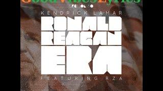 Kendrick Lamar - Ronald Reagan Era Traduction Française