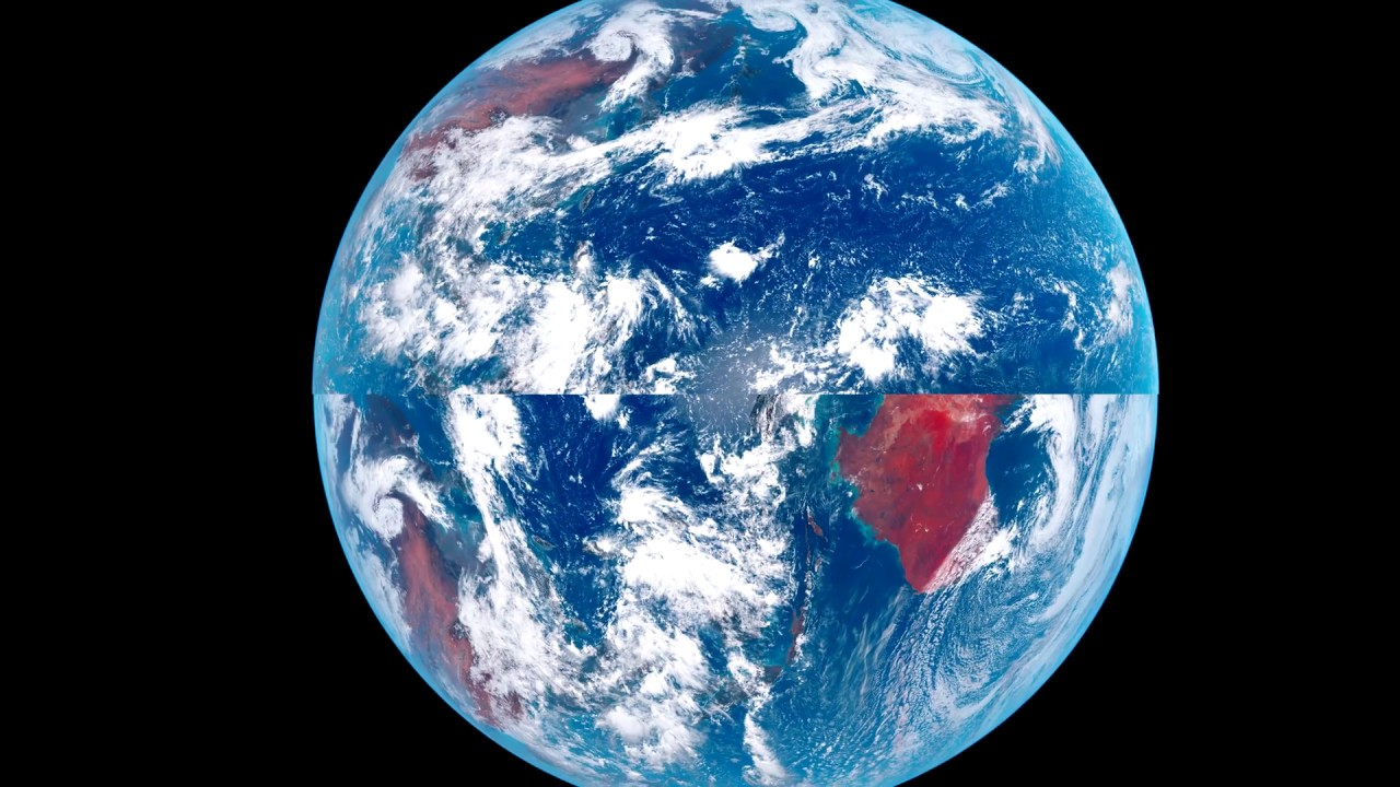Satellite Photos Show The True Shape Of The Earth - YouTube