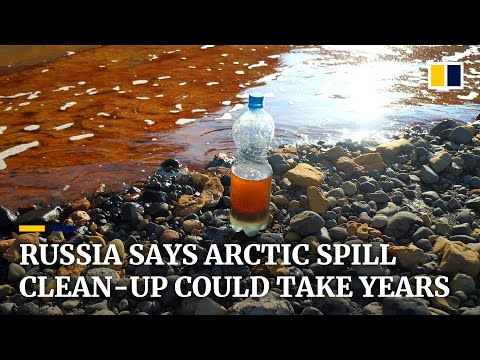 Russia says clean-up of largest ever Arctic oil spill could take years
