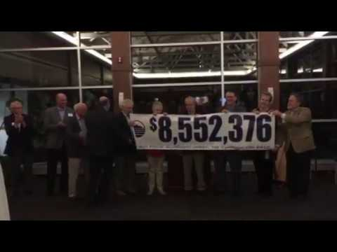 Blue Ridge Community College's big reveal of campaign total