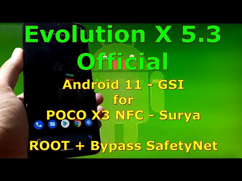 Evolution X 5.3 Official for Poco X3 [surya] Android 11
