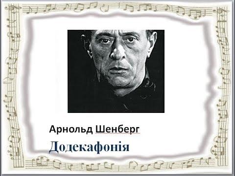 Арнольд  Шенберг. Додекафония