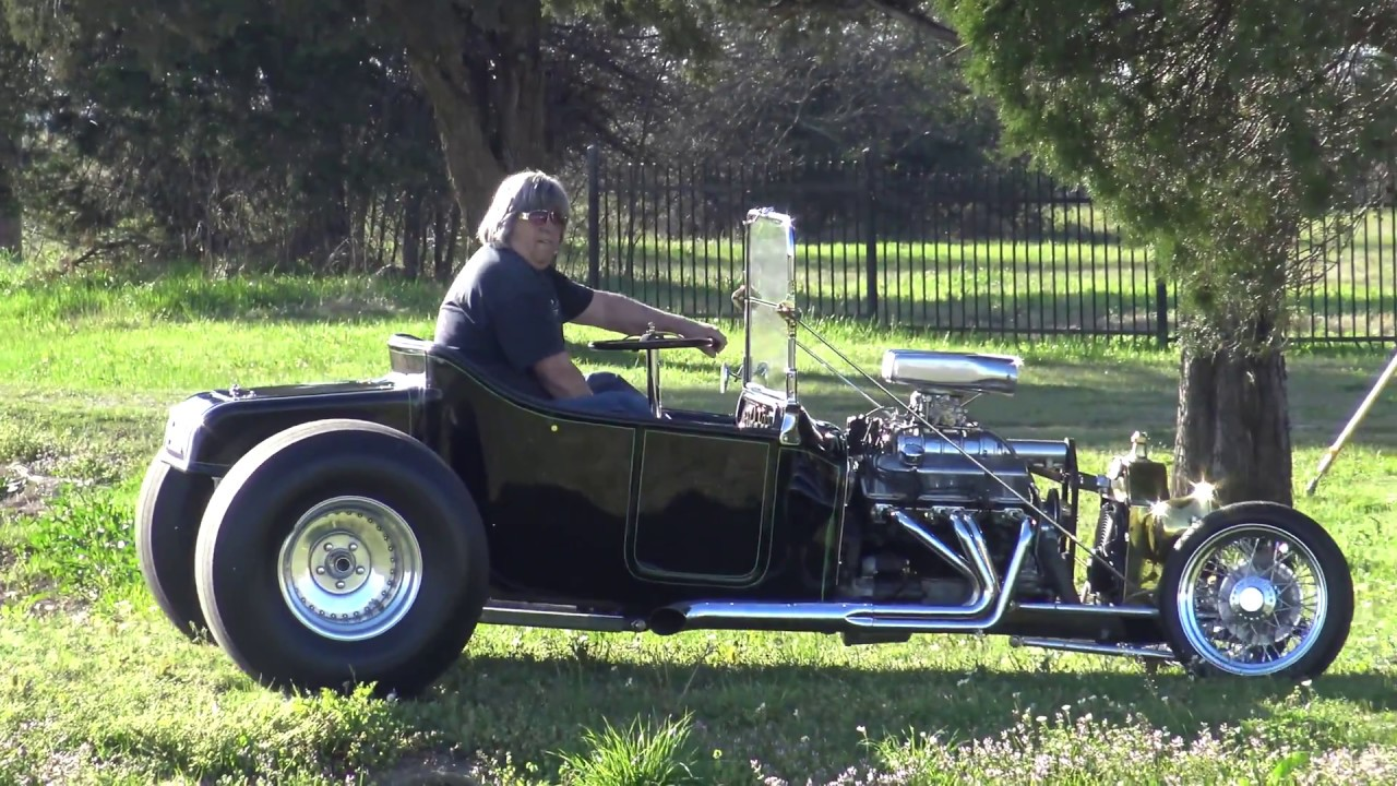 Custom 1920s Ford T-Bucket Hot Rod Roadster - YouTube