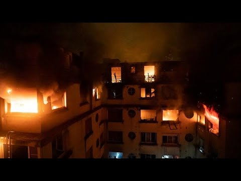 Violent Incendie Dans Un Immeuble Résidentiel à Paris : Au Moins 8 Morts