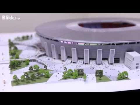 Így épül az új Puskás Ferenc Stadion