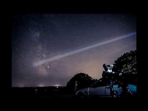 Newlands Corner Milky Way Timelapse HD 23.08.14