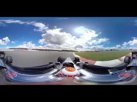 WOOW!!! Формула 1 в 360 градусов! Панорамное сферическое видео на скорости!