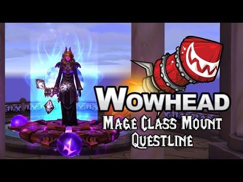 Mage Class Mount Questline