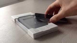 Уникальный сенсорный чехол для iPhone 5/5S. Moshi sensecover for iPhone.