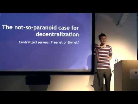 Ethereum London Meetup: Vitalik: The not-so-paranoid case for decentralization