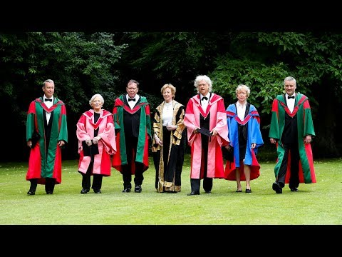 Presentation of Trinity Honorary Degrees 2017