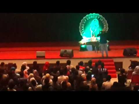 Babe Chabita stand up in Banda Aceh 2015   Stand up comedy