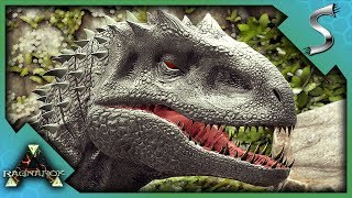 WE HAD TO BUILD A CONTAINMENT PEN TO RAISE THE INDOMINUS REX! - Ark: Survival Evolved [Cluster E71]